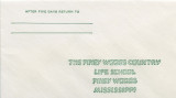 Piney Woods School Envelope