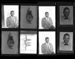 Set of negatives by Clinton Wright including children's summer school at Matt Kelly, Mrs Ware and Godfry (copy), and Joe Neal portraits, 1964
