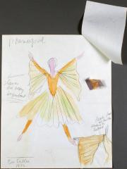Alvin Ailey American Dance Theater, costume design sketches