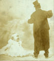 Lew Dockstader, minstrel, and Totsie Wilson