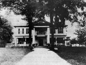 Hervey Hall home