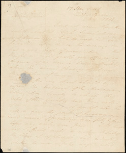 Letter from James Cropper, 17 Store Street, Bedford Square, [London, England], to William Lloyd Garrison, 1833 [July] 5