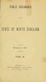 Public documents of the State of North Carolina [1901 v.2]