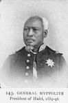 General Hyppolite; President of Haiti; 1889-96