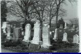 Oakwood Cemetery William Sarah Harmon Allison Tombstones 1990
