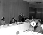 Norm O. Houston Speaking, Los Angeles, 1959