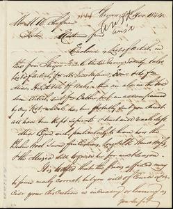 Letter from Catherine Paton, Glasgow, [Scotland], to Maria Weston Chapman, 30th Nov. 1844