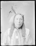 Dakota man, Jim Red Cloud, grandson of Chief Red Cloud, Oga. Sioux. St Louis, Missouri 1904