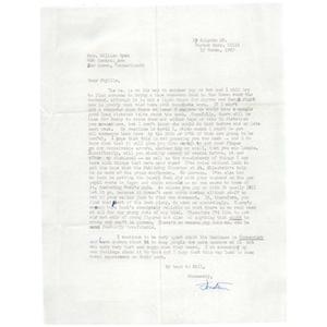 Letter, Phyllis M. Ryan, March 17, 1967.