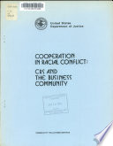 Cooperation in racial conflict : CRS and the business community