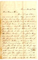 Correspondence from Beck Wallace to Samuel R. Latta, December 29, 1861