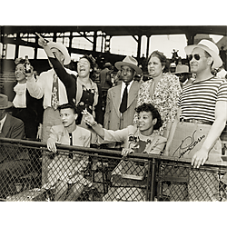Spectators at Forbes Field