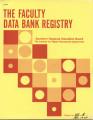 The Faculty Data Bank Registry, November 1975