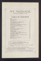 My Message, Official Organ of the Diocese of St. Cloud (St. Cloud, Minnesota), Volume 1, Number 10