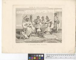 A black tea party / W. Summers, del. Hunt, sc.