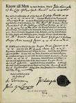 Bill Of Sale Of Negro