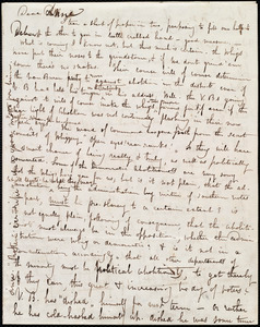 Letter from Maria Weston Chapman, [Boston?, Mass.], to Anne Warren Weston, [1840?]
