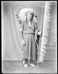 Chief Left Hand Bull, Brule Sioux, South Dakota. U. S. Indian School, St Louis, Missouri 1904