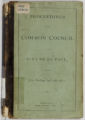 Proceedings of the Common Council of the City of St. Paul for the Year Ending April 9th, 1872