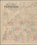 Lloyd's official map of the State of Tennessee