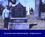 Tombstone of Underground Railroad Conductor Andrew Allison in Oakwood Cemetery