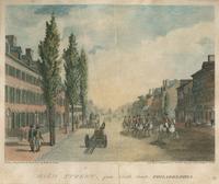 High Street, from Ninth Street. Philadelphia