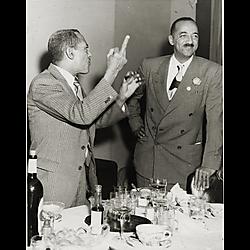 Attorney Wilbur Douglass and Judge William H. Hastie