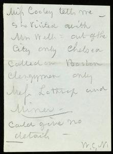 Letter from William Still, Philadelphia, to Samuel May, Mar. 8 / 60