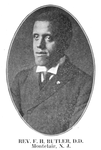 Rev. F. H. Butler, D.D.; Montclair, N.J