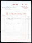 Receipt, Abraham to Lott, Liberia, 1962 Nov. 17