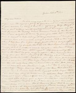 Letter from Sylvia Ann Ammidon, Groton, [Mass.], to Deborah Weston, Sept. 10th, 1833