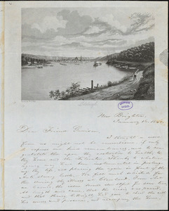 Letter from Milo A. Townsend, New Brighton, [Pennsylvania], to William Lloyd Garrison, 1848 January 16