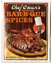 Chef Oscar's barbecue spice packets