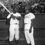 Baseball players, Los Angeles, 1961