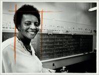 Betty Strickland, principal of Cook School, undated