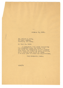 Letter from W. E. B. Du Bois to Howard P. Nash