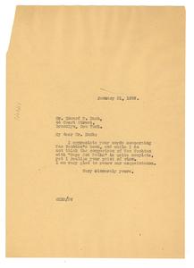 Letter from W. E. B. Du Bois to Howard P. Nash