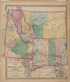 Map Idaho, Montana, and Wyoming