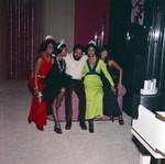 Berry Gordy, Gwen Gordy, Iris Gordy, Los Angeles, 1971