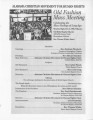 Bethel Baptist Church: Old Fashion Mass Meeting program