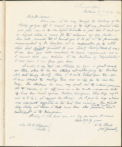 Letter from O.A. Bowe, Herkimer, New York, to Maria Weston Chapman, 1843 Dec[ember] 22