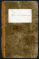 Cartmell Diary Vol. 1, 1849-1858
