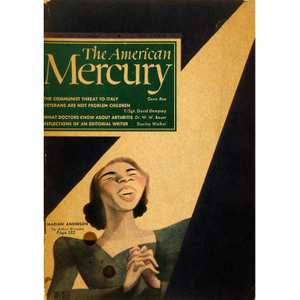 Marian Anderson on the cover of The American Mercury