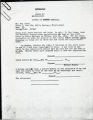 Rubin --Voter Registration, Persons Not Hearing From Registrar, 1964 (Larry Rubin papers, 1960-1971, 1977; Archives Main Stacks, Mss 565, Box 1, Folder 13)