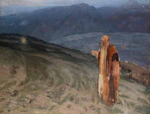 Study for Moses and the Burning Bush