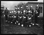 Denver H[igh] S[chool] Cadets visiting H[oward] U[niversity], April 1950 [cellulose acetate photonegative]