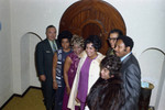Berry Gordy's New Year's Eve party group portrait, Los Angeles, 1970