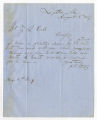 Letter by J. R. Bates from Leighton, Alabama to Ziba Oakes