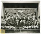 Sullivan High School 1955 minstrel show, Sullivan, Indiana