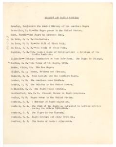 Black bibliography